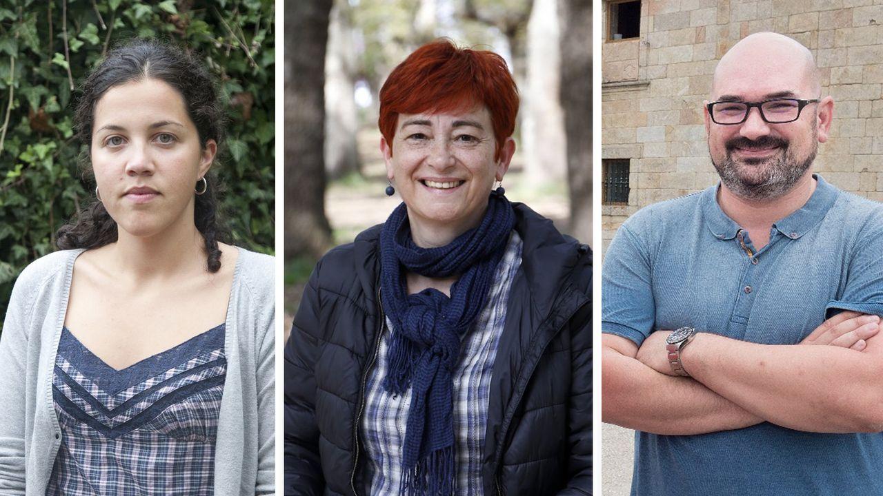 El Descenso urbano de Sarria, espectaculo en estado puro.Mónica Rancaño, Maite Ferreiro y Efrén Castro sustituirán a Veiga y Ferreiro en la Diputación.