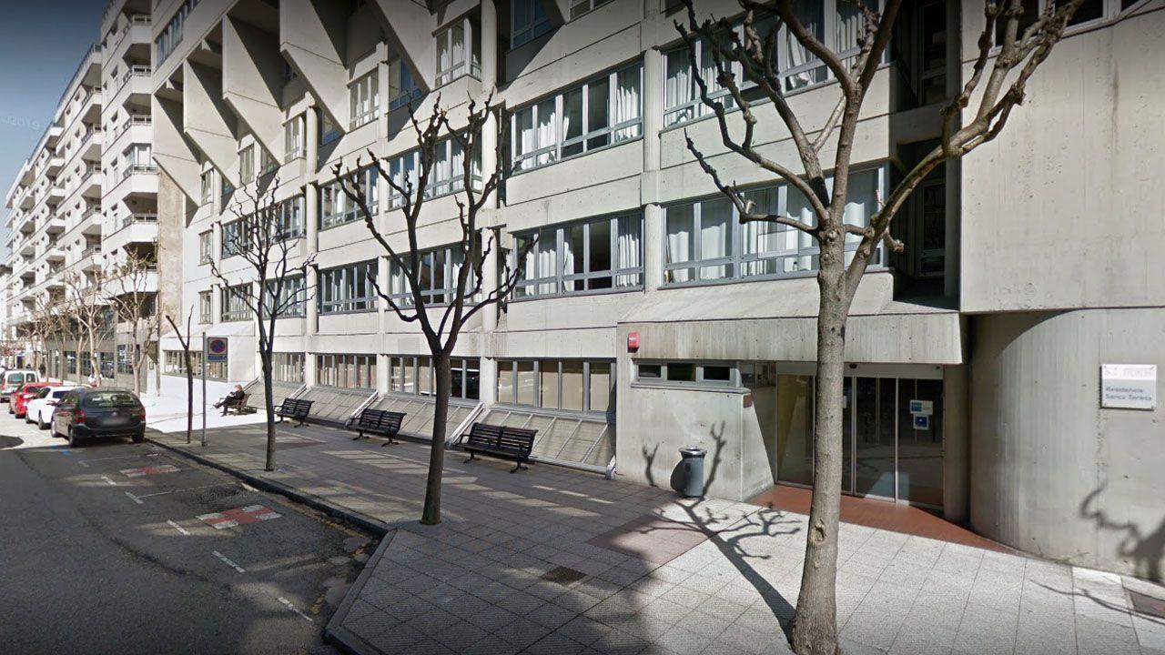 Residencia Santa Teresa, en Oviedo