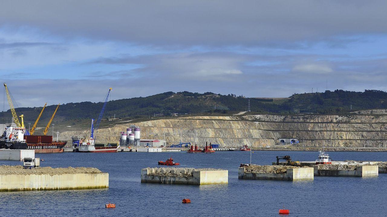 El puerto exterior sigue creciendo.