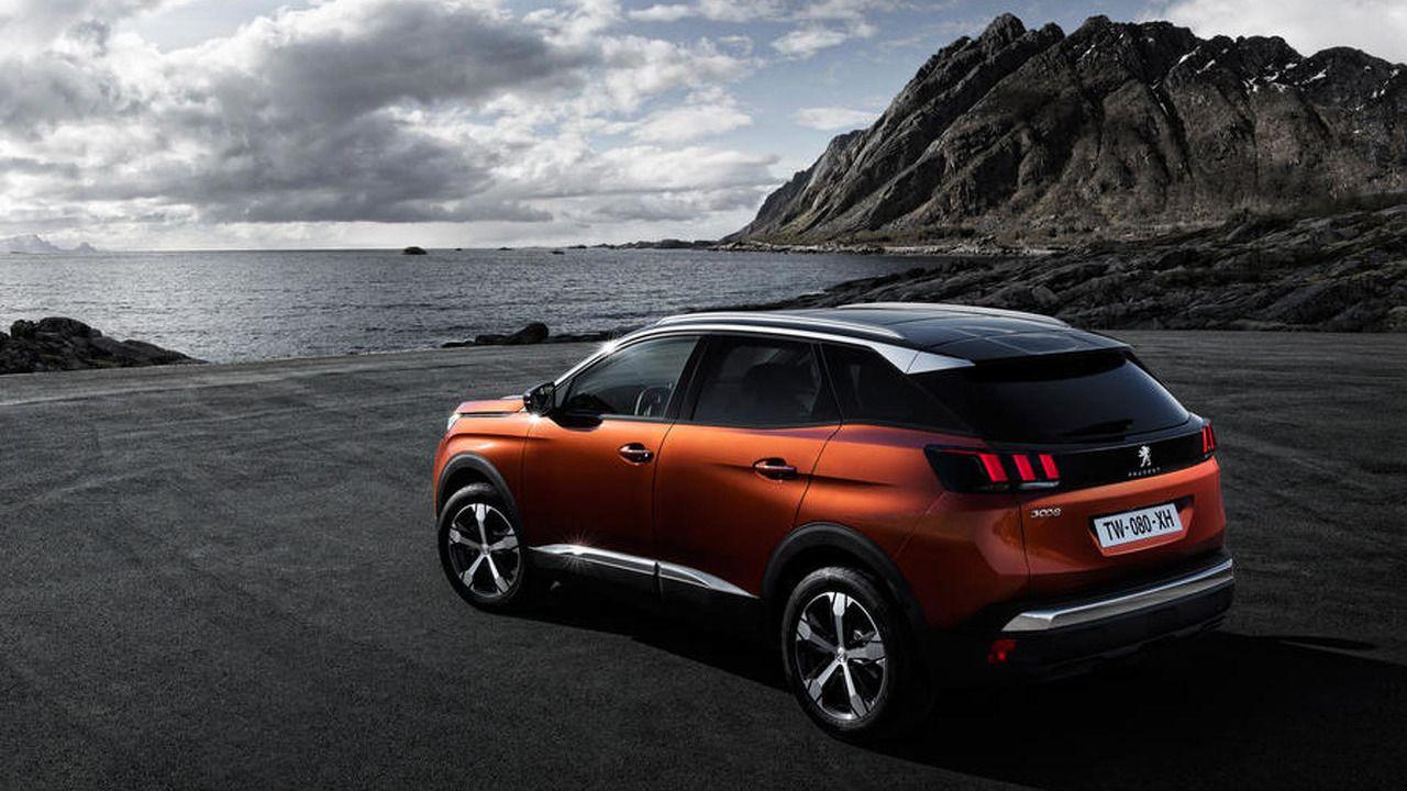 Décimo puesto para el 3008 de Peugeot, un SUV del que se vendieron 22.870 unidades