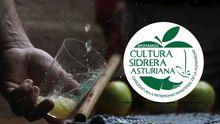 Logo de la campaña para declarar la cultura sidrera Patrimonio de la Humanidad