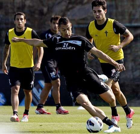 Samuel Llorca será uno de los reclamos para el partido de esta tarde en Balaídos.