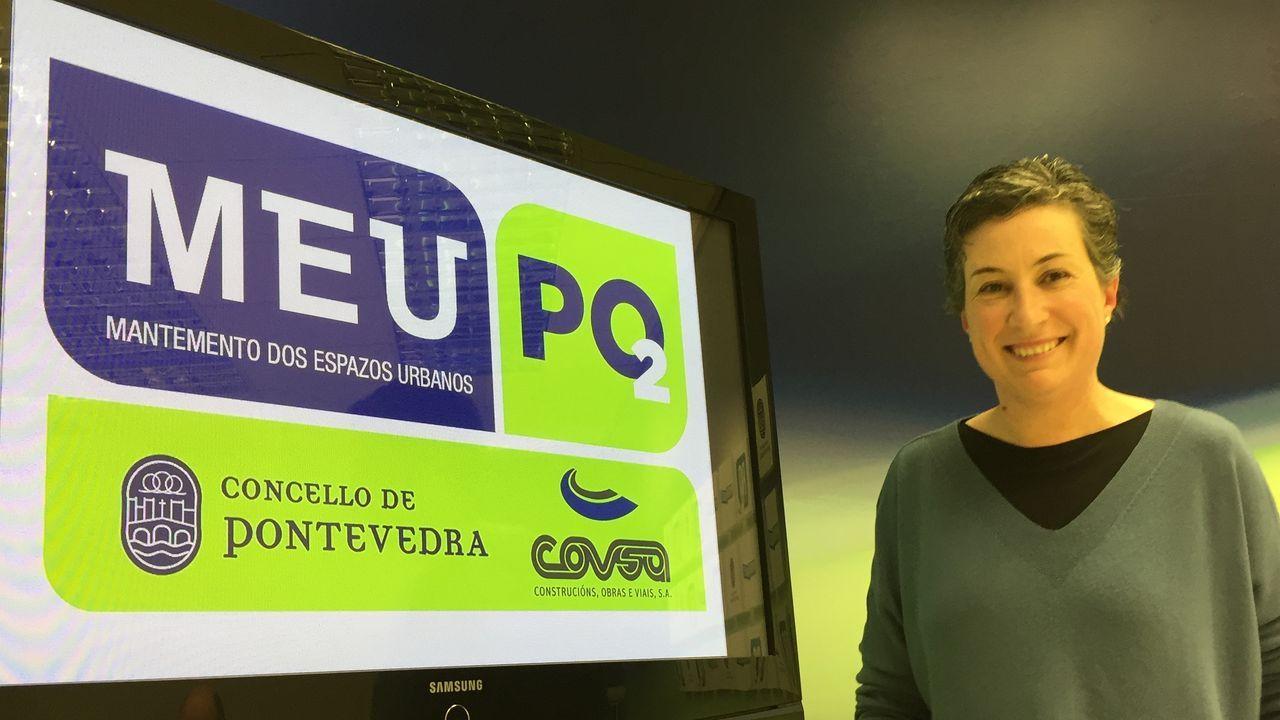 Pontevedraasume el confinamiento.Guardar la distancia. El Rexistro Xeral del Concello de Pontevedra luce una barrera para evitar la proximidad entre usuarios y funcionarios.