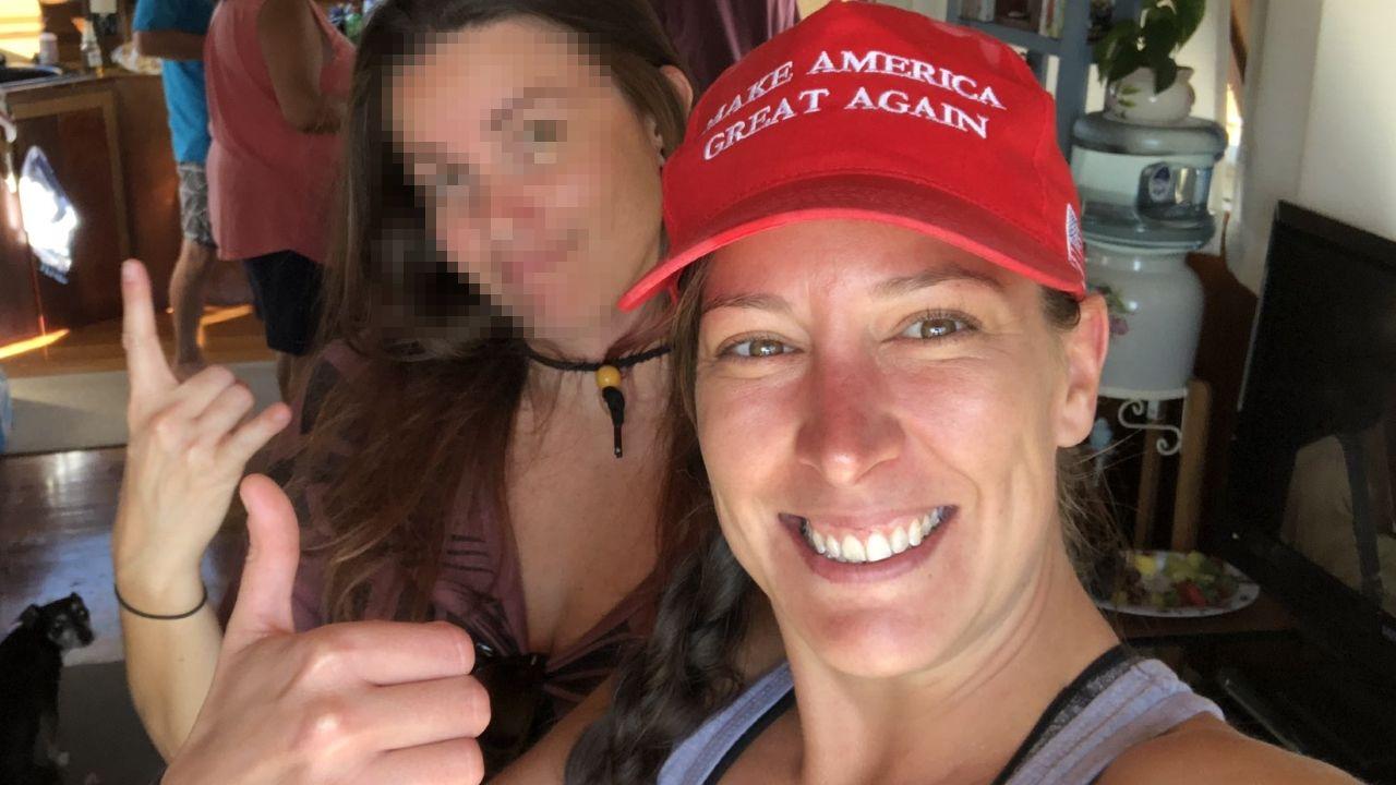 Ashli Babbit, la partidaria de Trump fallecida en el asalto al Capitolio de Washington, en una imagen del 2019
