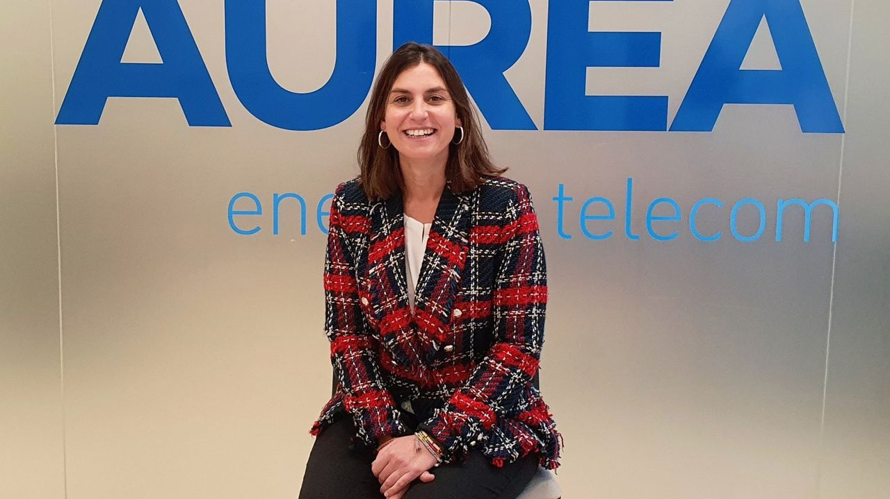 Beatriz Estévez, gerente de Aurea Telecom