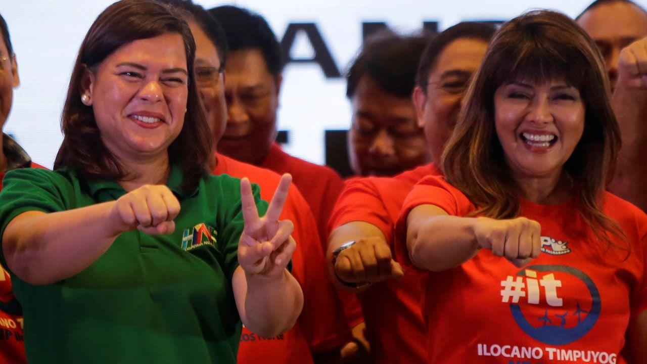 Los Locos ya tienen su parque en Nuevo Roces.Sara Duterte (de verde), hija del presidente de Filipinas, Rodrigo Duterte