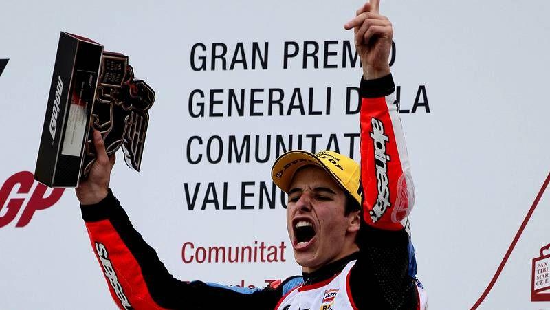 Jorge Prado, que reside habitualmente en Bélgica, está al frente del Campeonato de Europa de 125.