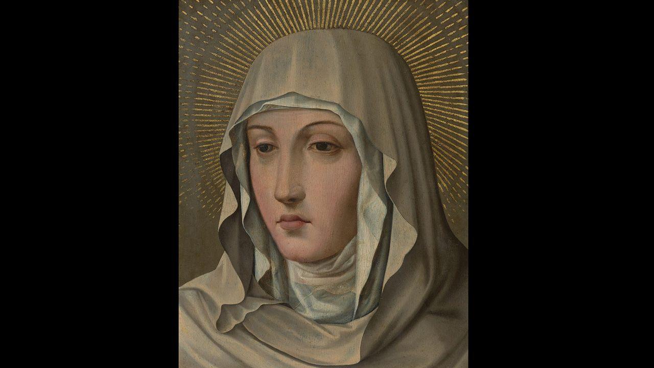 Verónica de la Virgen, de seguidores de Juan de Juanes. Colección Villagonzalo