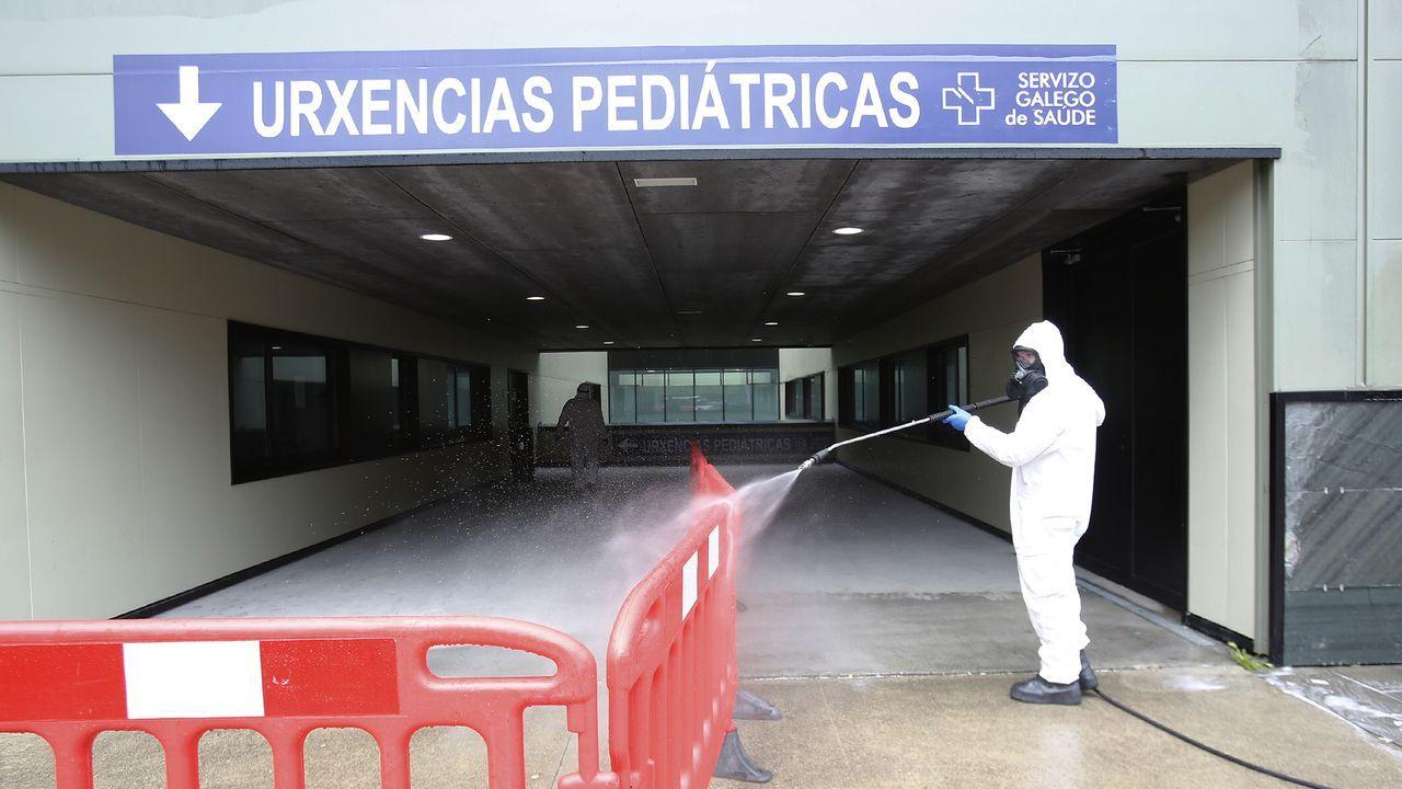 Una tradición que pasa de padres a hijos.Merchi Pérez vive en Moaña en situación de pobreza energética