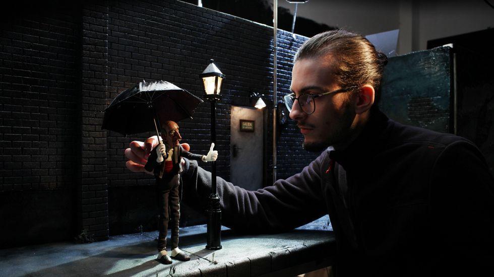 El rodaje se desarrolló en el embalse de Belesar durante el pasado mes de noviembre