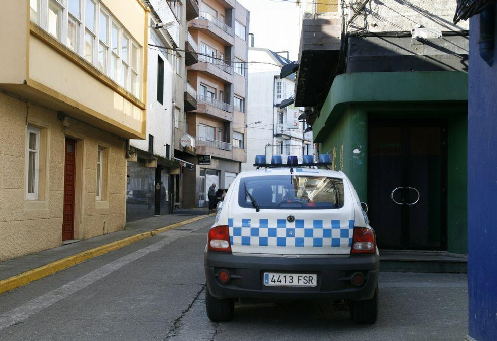 La calle Calzada es por el día y entre semana de las más tranquilas de la localidad.