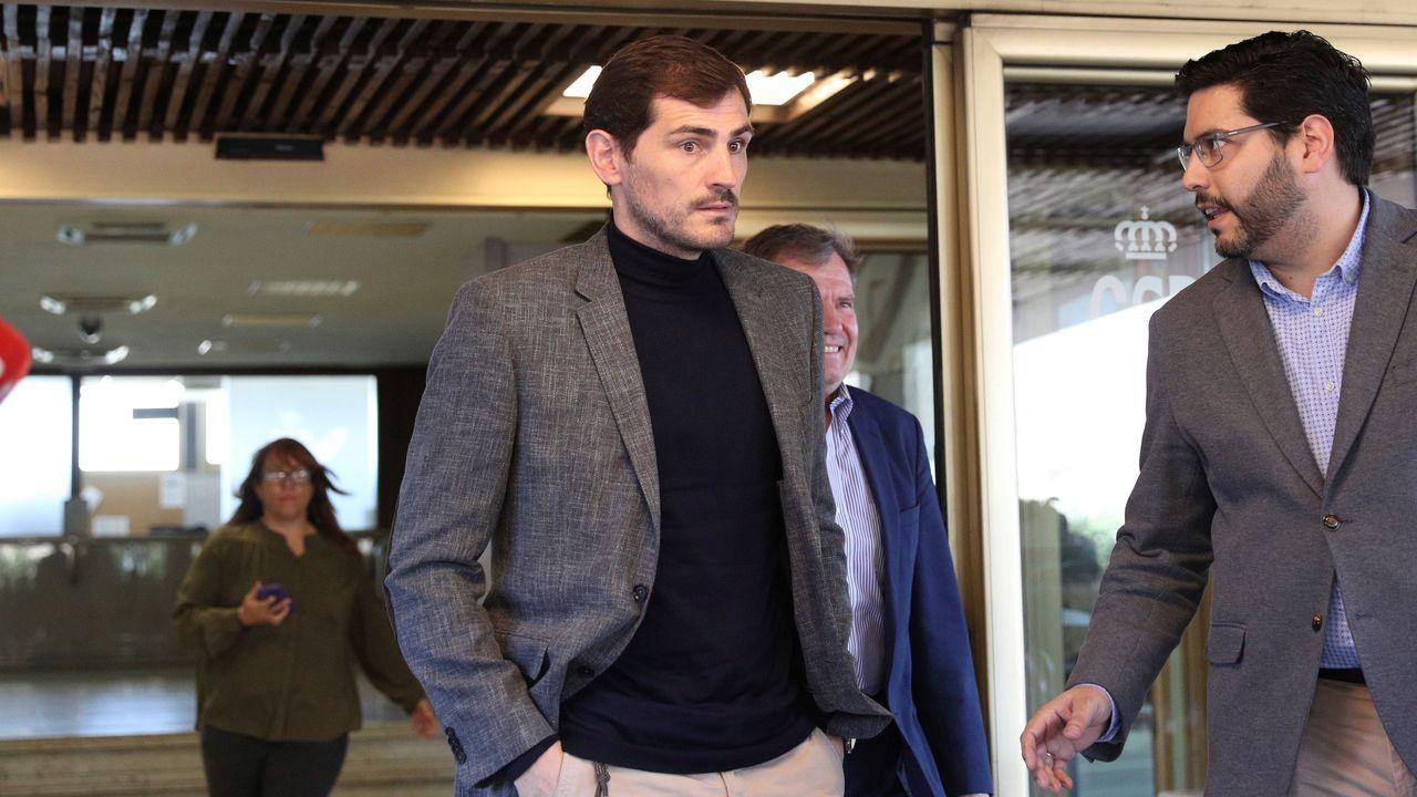 Casillas no se retirará de las elecciones a presidir la RFEF.Satoshi Uematsu, de 30 años, durante su detención en el 2016