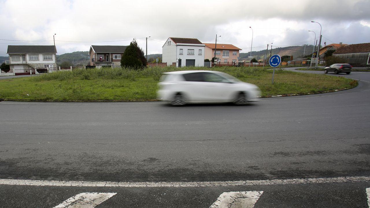 Frío en Galicia.Imagen de la helada en Asturias