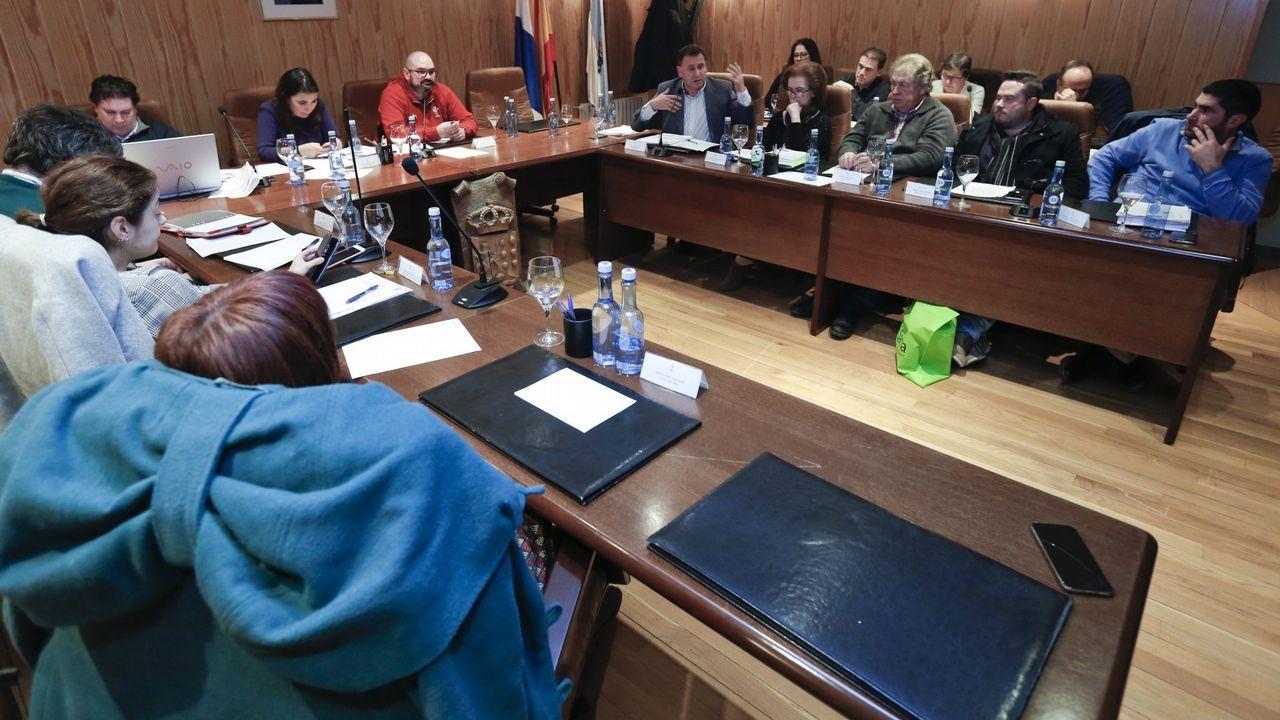 Imagen de archivo de un pleno en Sarria