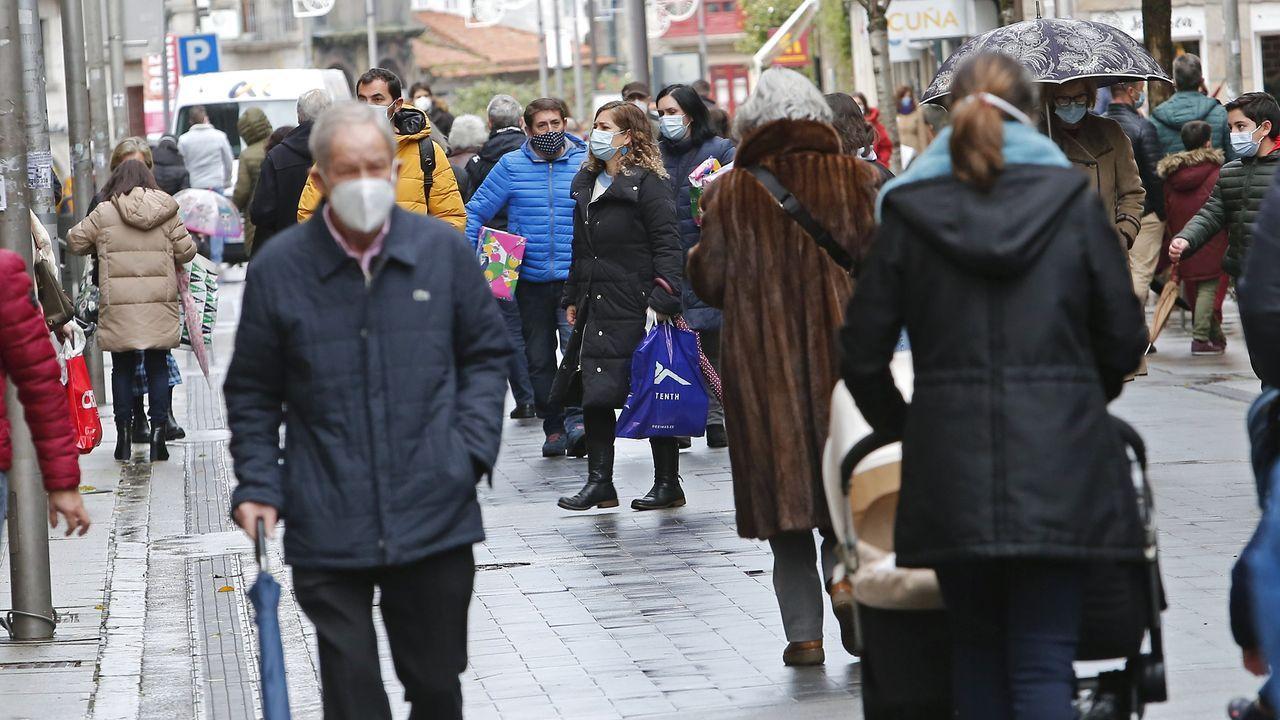 Compras navideñas en Pontevedra