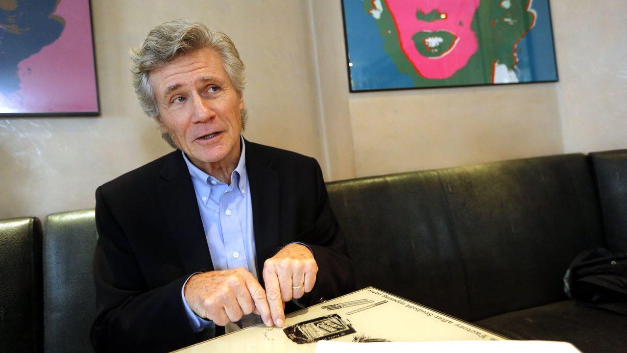 El escritor John Verdon