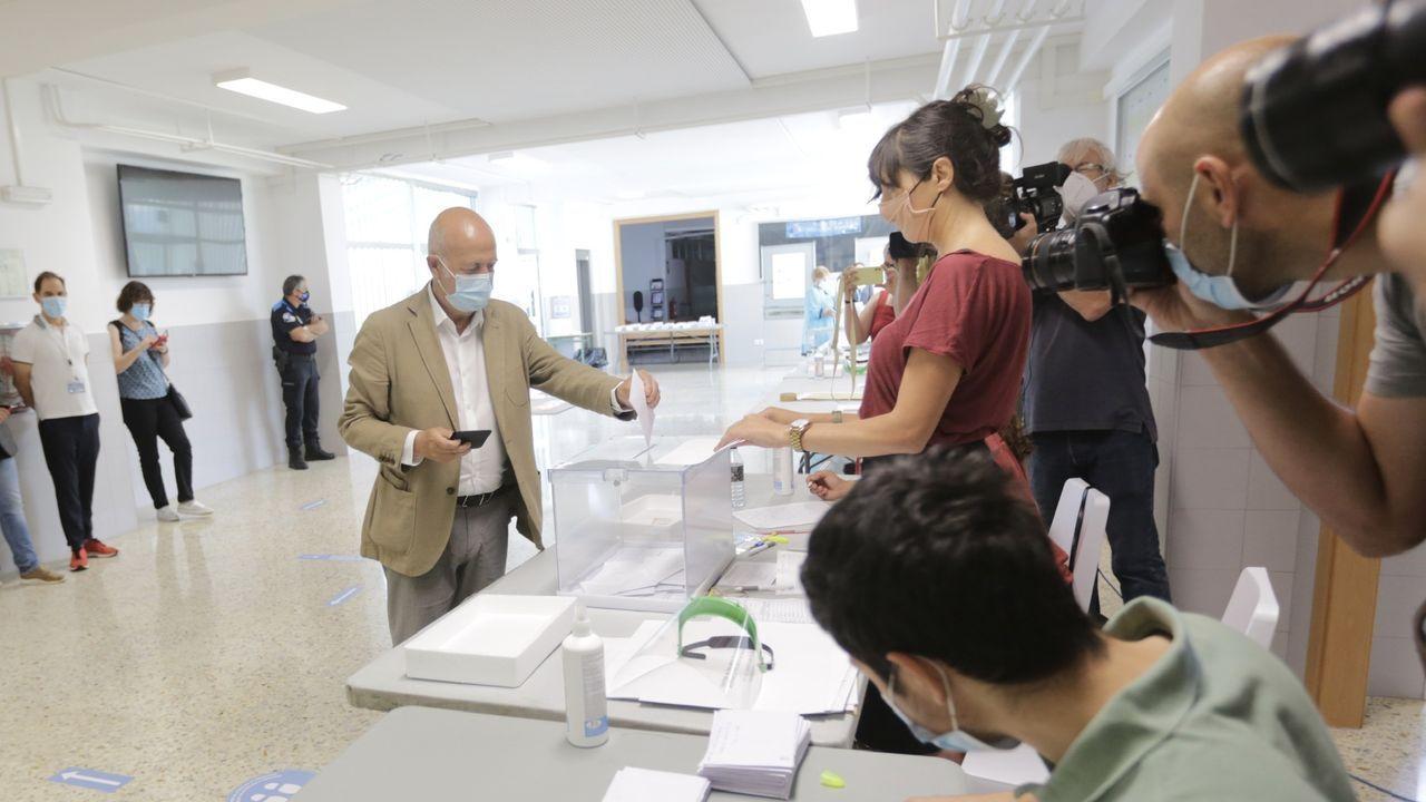 coru.Votación en A Coruña