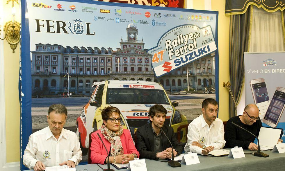 La prueba fue presentada en la mañana de ayer en el Concello de Ferrol.
