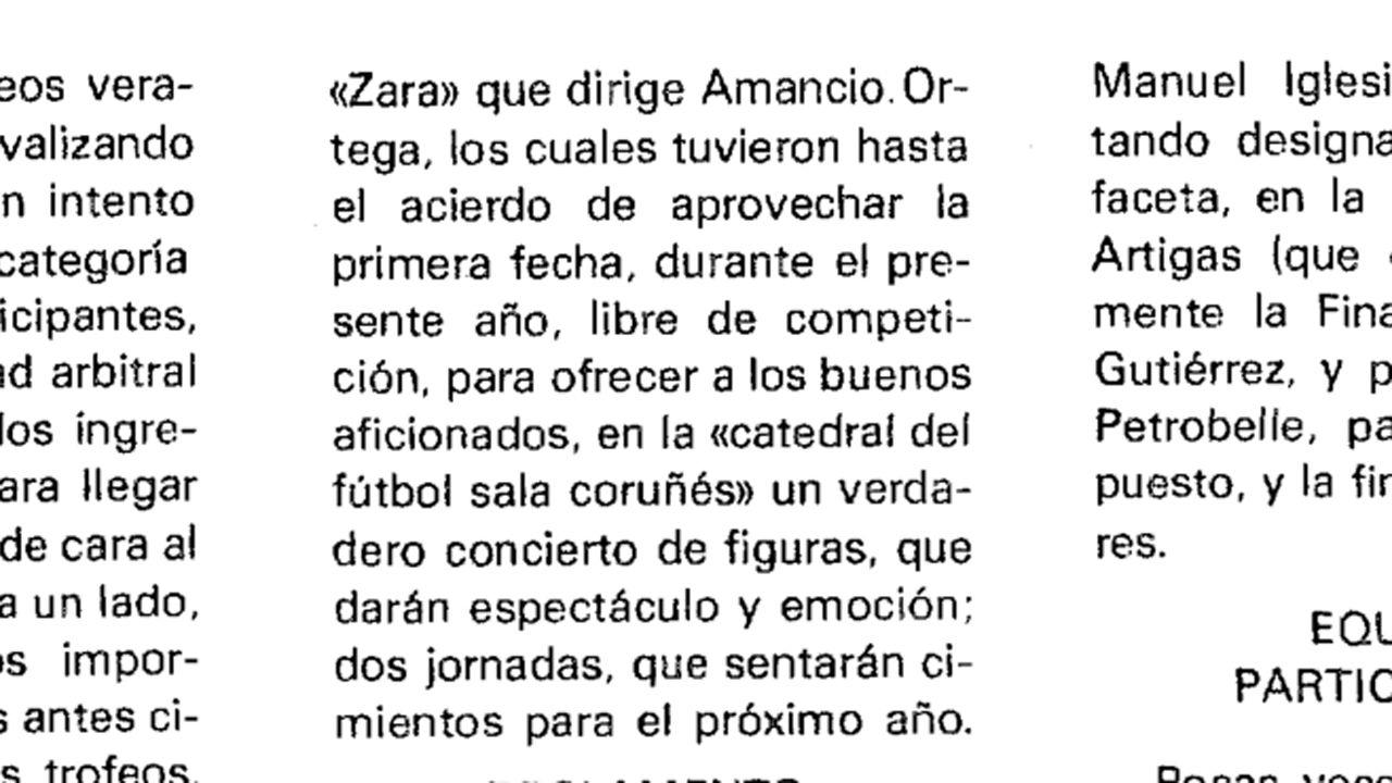 Patrocinio de un torneo de fútbol de Salesianos, publicado el 11 de agosto de 1981