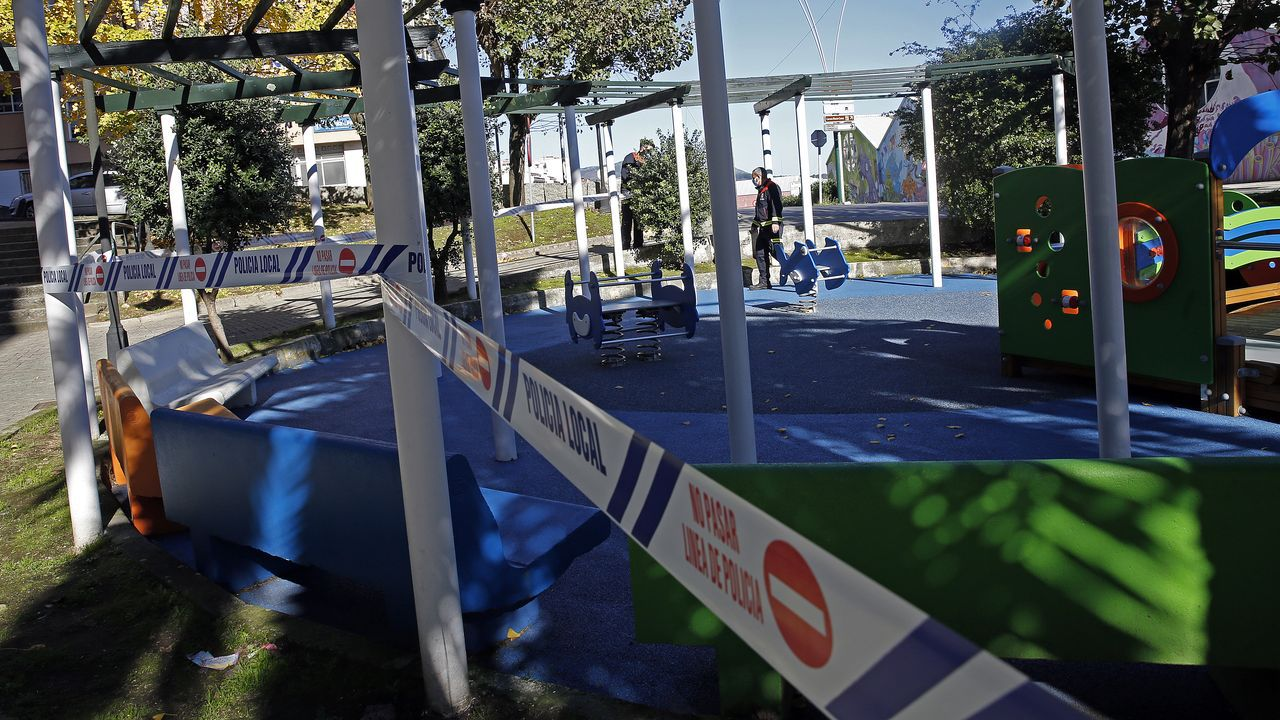 Lucense en la Plaza Mayor este fin de semana. Los casos en el municipio de Lugo son 318