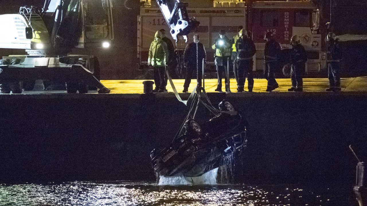Trágico accidente en el puerto de Malpica