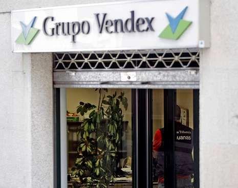 El listado se incautó en el registro de la sede de Vendex.