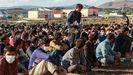 Campamento de refugiados acoge a 400 desplazados de Afganistán, Pakistan e Irán.