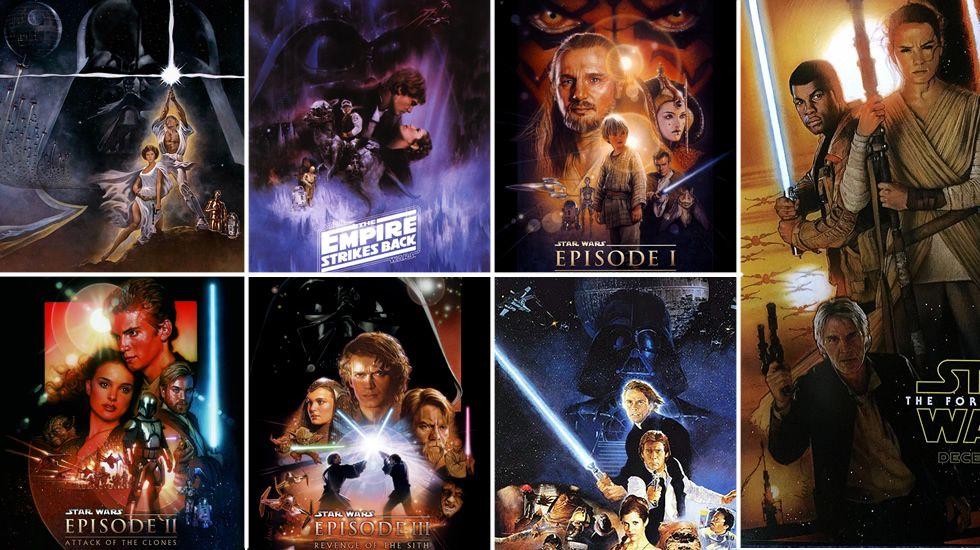 El mejor orden para ver Star Wars