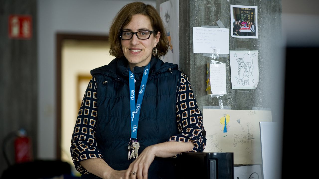 Claudia Rodríguez, psicóloga y coordinadora del Proyecto Conviviendo de la Fundación Amigó en A Coruña