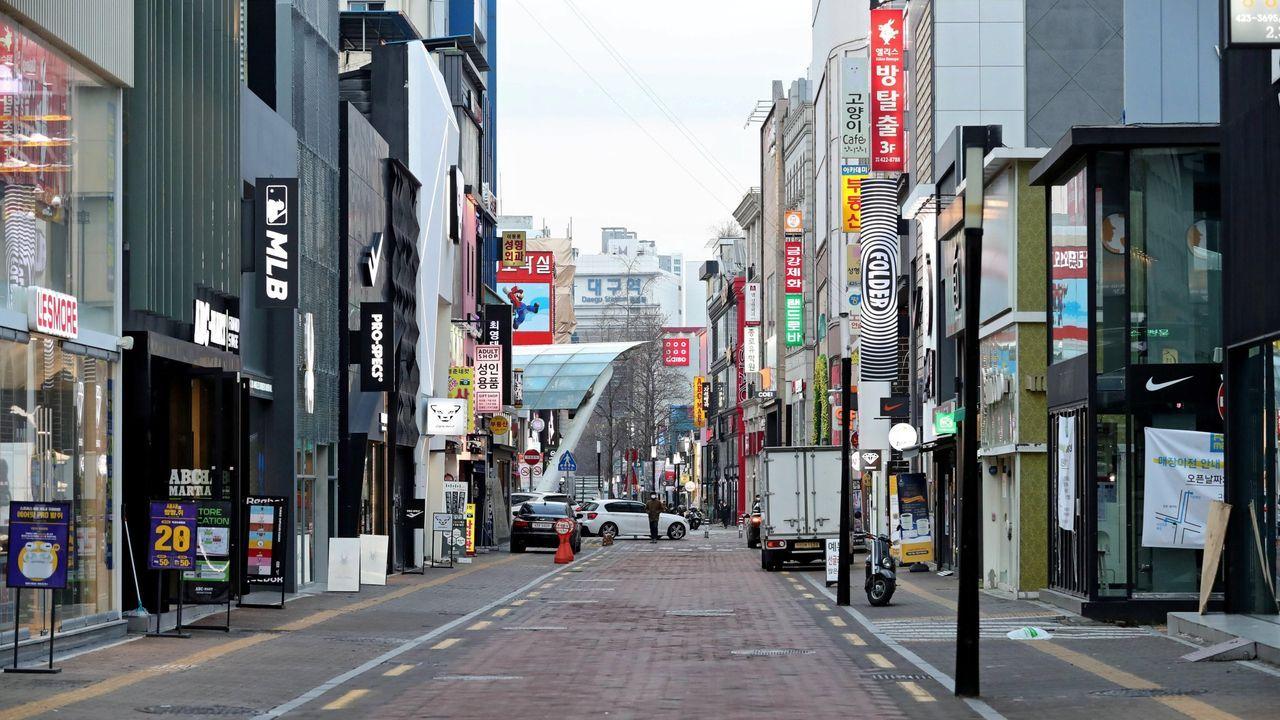 Daegu, en Corea, uno de los principales lugares comerciales