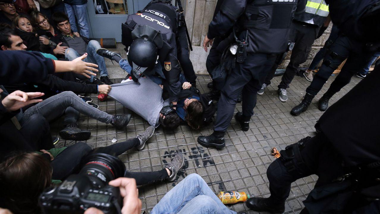 Referendo ilegal en Cataluña