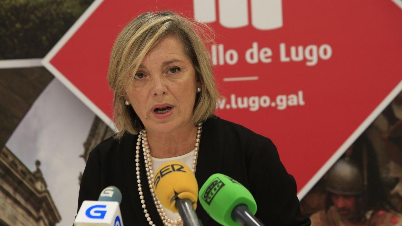Paula Alvarellos, edila responsable de Personal en el Concello de Lugo
