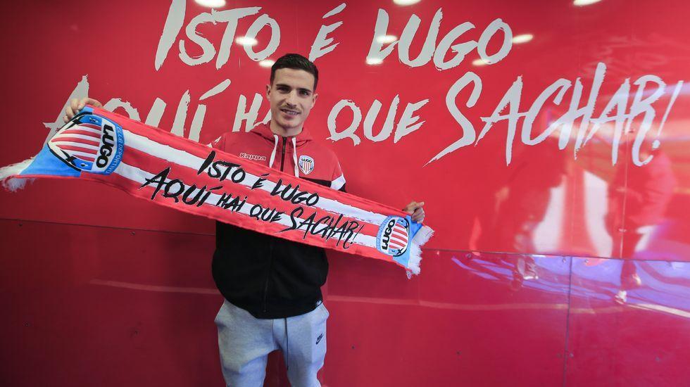 Así fue la charla sobre fútbol entre Eusebio Sacristán y Sergio González.Sangalli, Ortuño, Tejera y Borja celebran el 2-1 al Rayo Vallecano