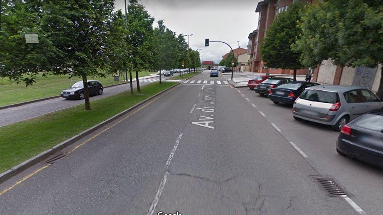 Avenida Juan Carlos I, de Gijón