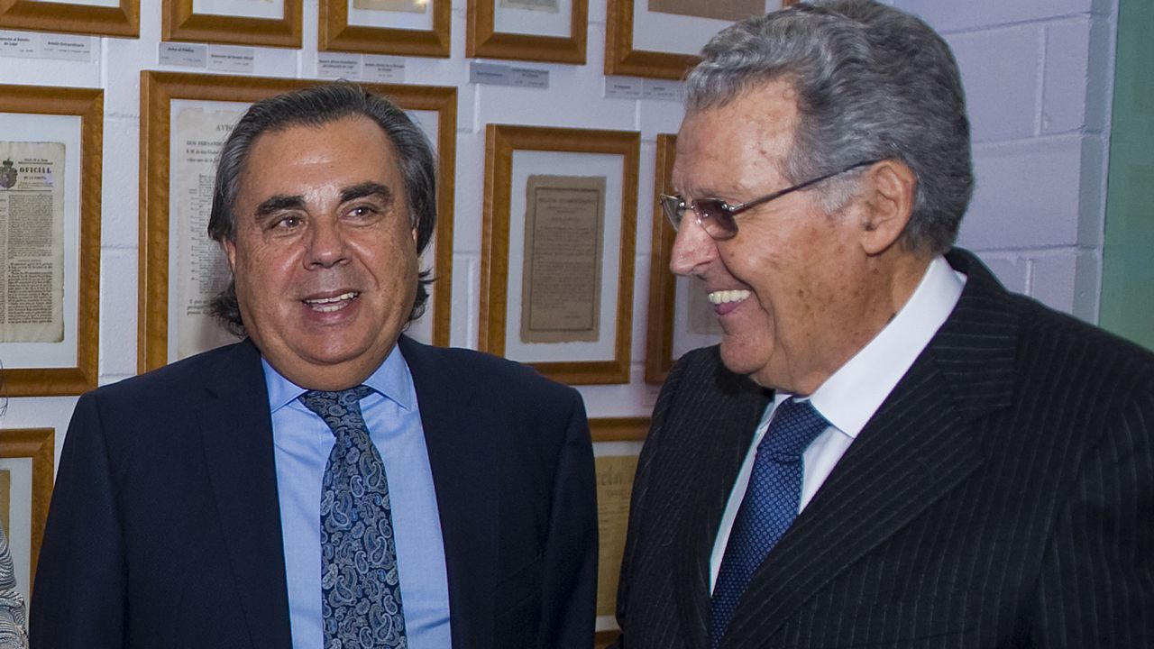José Souto, de Irta Inmobiliaria, y José Carlos Martínez, de Einsa.