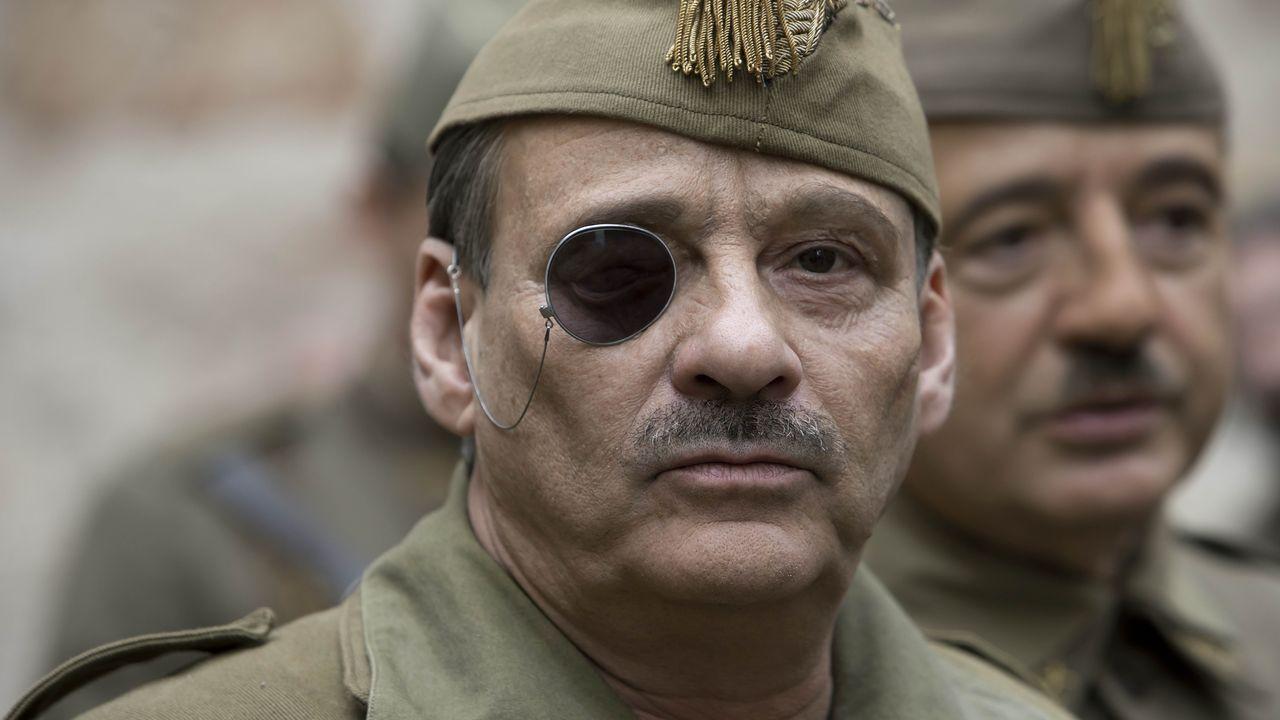 Franco.Eduard Fernández es José Millán-Astray