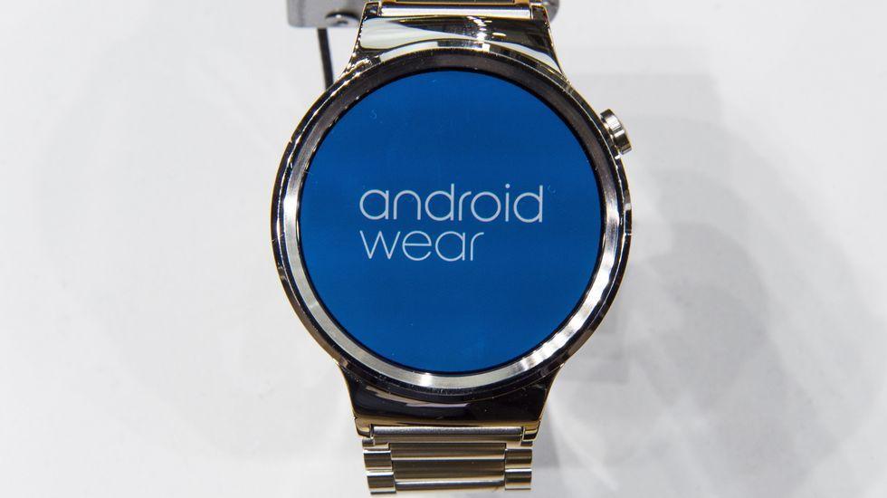 Un smartwatch realizado por Google y Huawei.