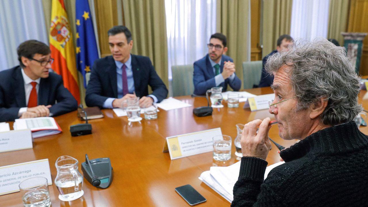 Reunión del comité de Evaluación y Seguimiento del Coronavirus del pasado 11 de marzo