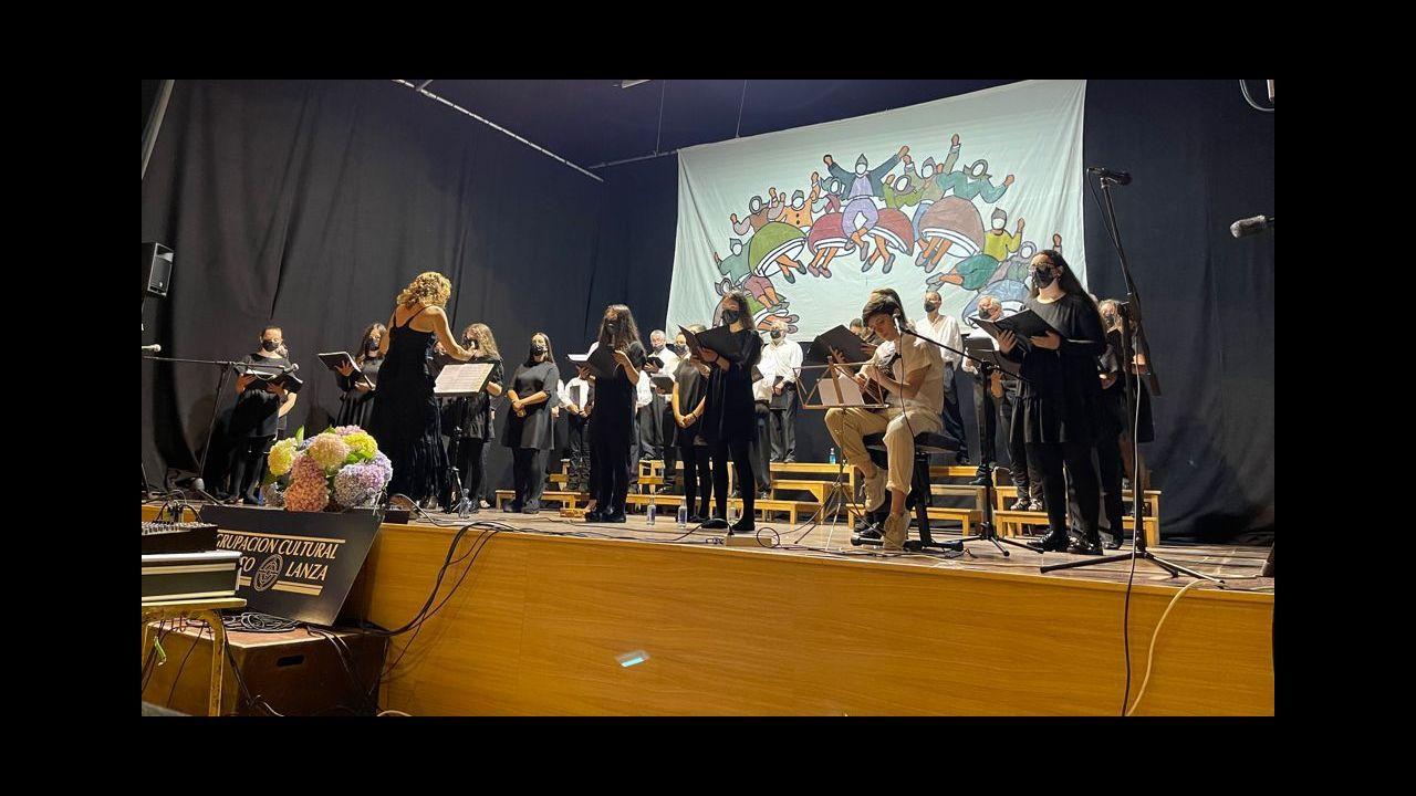 Actuación de la Banda Municipal en las jornadas de Francisco Lanza