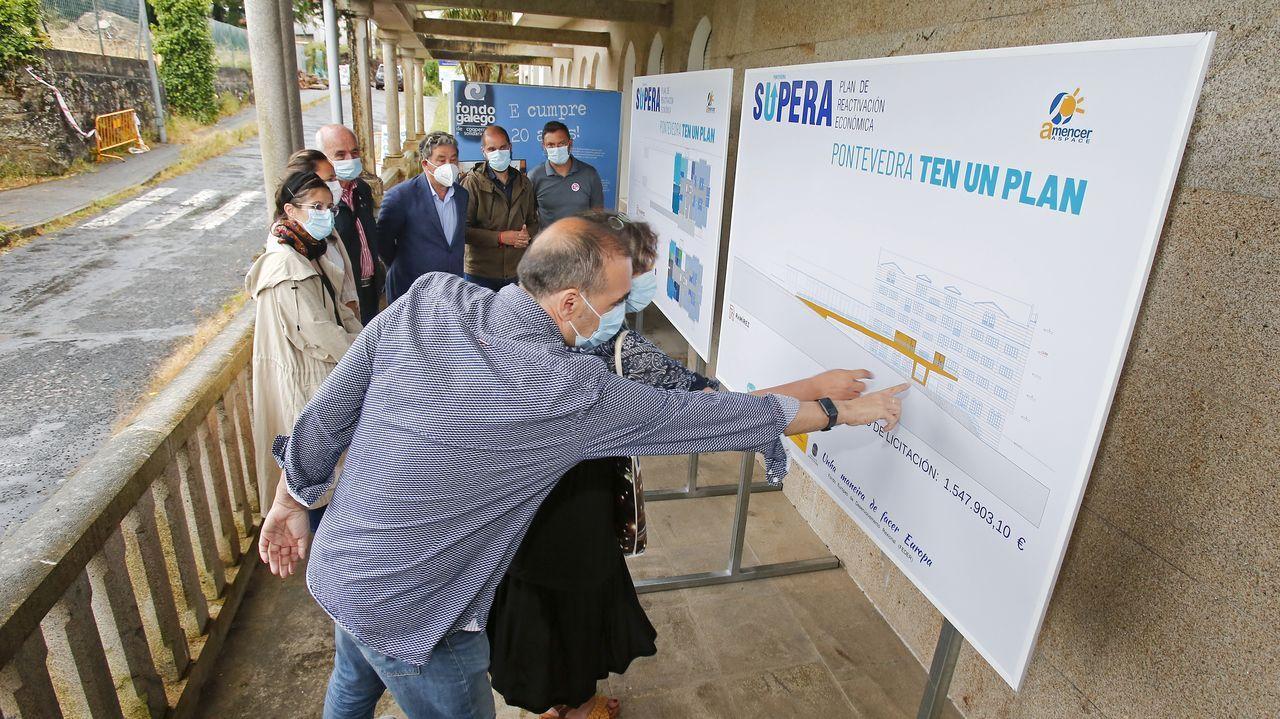 La presentación de la reforma del Centro Sur tuvo lugar este jueves en Pontevedra