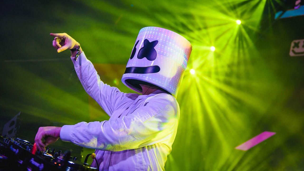 El productor y DJ americano Marshmello viene a Europa para festivales como Meo Sudoeste (Portugal) y Rock Werchter (Bélgica)