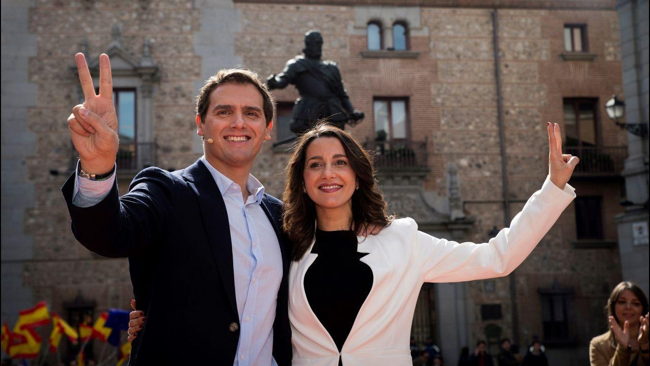 Arrimadas anuncia su candidatura por Barcelona para el 28A.Joan Mesquida en el acto de la plataforma España Ciudadana el pasado 8 de julio