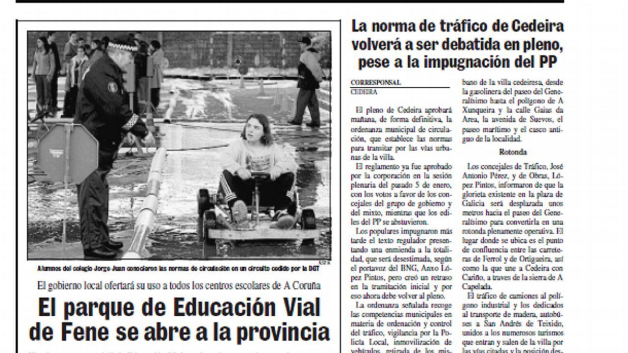 El #TopVacacional de la DGT: hospital, cárcel o cementerio.Autopista del Huerna a su paso por Caldas de Luna