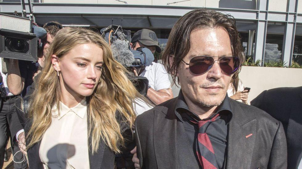 La fuerte discusión de Johnny Depp yAmber Heard