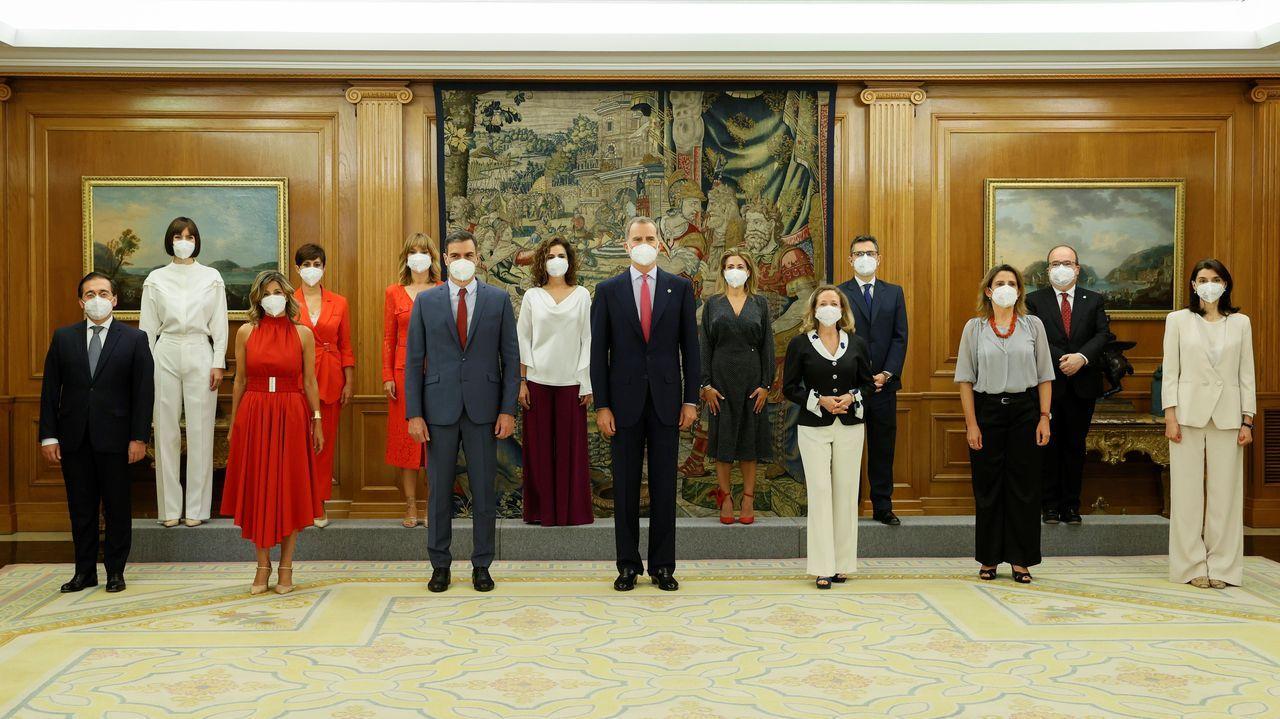 Los nuevos ministros prometen sus cargos ante el rey Felipe VI