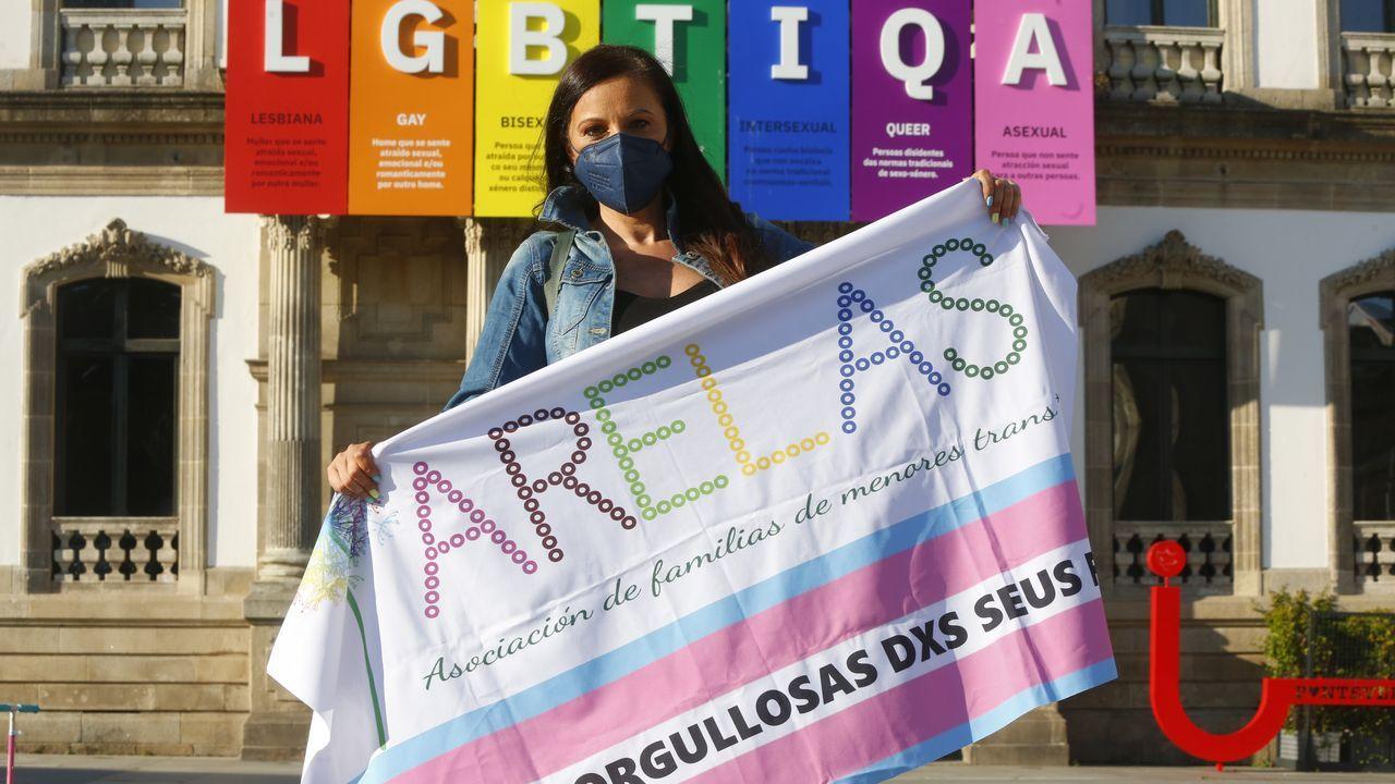 Vanessa Papiri, vocal de la asociación Arelas, de familias con menores trans