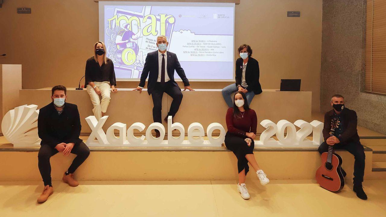 Presentación do novo festival Mar da Cultura, impulsado pola Consellería de Cultura, Educación e Universidade