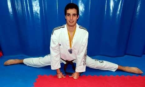 Felipe Barcala caeu na final do peso semipesado (-78 quilos).