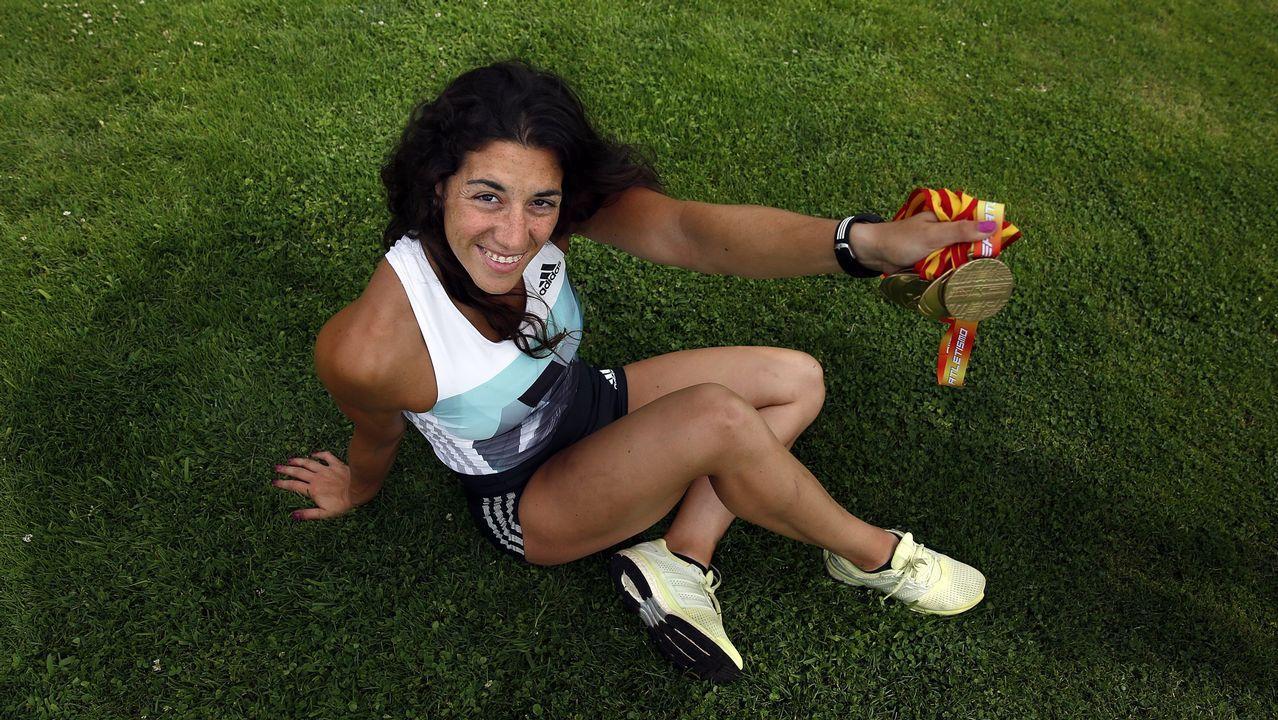 Lidia Parada. Su mejor marca en jabalina es 59,03, lo que le hubiera permitido ser undécima en Río. Solo tiene 25 años.
