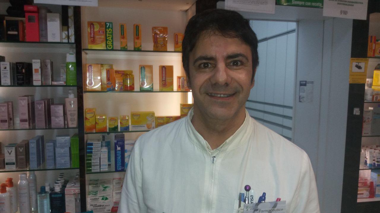 El farmacéutico limiano Pablo García Vivanco está especializado en nutrición.